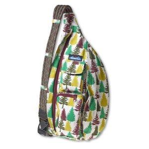 •KAVU• Green Pine Tree Rope Bag